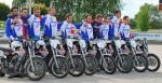 L'équipe de France 2015 à Kuppenheim (© Fédération Française de Motoball)