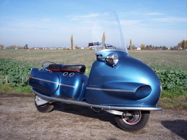 Hausman: un scooter hors normes