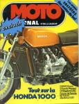"""La couverture de Moto Journal venue """"d'un espion aux USA"""" déclenche toute l'affaire"""