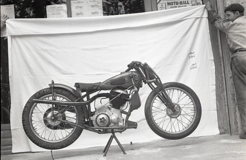 Nougier 250 motoball 1947