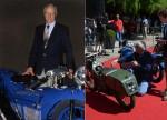 Marc Defour disparu en 2015 était réputé pour ses restaurations et c'est un bel hommage que trois des motos qu'il a fait revivre, la Viratelle, la Majestic et la Sévitame soient primées à la Villa d'Este. (photos B. Salvat et C. Gaime)