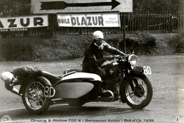 Collection Moto Rétromobile : 100 ans de Gnome & Rhône à Safran