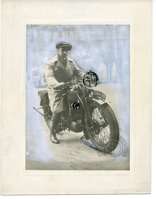 Peugeot 350 P105 - Paul Péan janvier 1928 pour Marchal