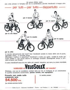 La publicité italienne reprend le même thème que sur notre prospectus national.