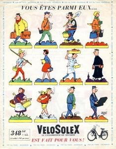 Pour tous, c'est clair ! La publicité est de 1961.