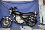 Ce prototype très évolué de Kawasaki rotative est conservé au musée privé de l'usine.