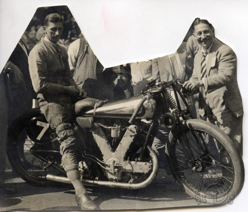AJS 1000 Compresseur 1930