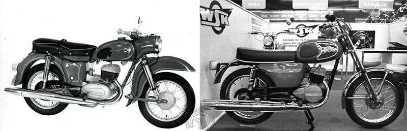 MZ 175cm3 1962 / WSK 125 Riviera 1970