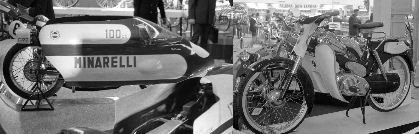 Minarelli 100 et 175 des records (1966 à 1971)  / Tomos 50 - 1963