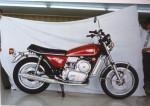 Version prototype de la Yamaha RZ-201 à l'usine quelques mois avant la présentation.