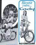 1965 : Changement de style, avec le Cady que Motobécane lance en 1965 pour attaquer le marché des adolescents.