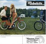 1967 : Publicité en Allemagne pour la Mobylette AV59 en catégorie moped limitée 50 km/h et l'AV149 en catégorie mofa conduisible sans casque et limitée à 25 km/h.