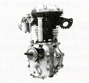 Un petit air d'Horex pour ce moteur 250 KH 1 de 1954 qui fut, dit-on, étudié en collaboration avec BMW avec qui Kawasaki Aircraft avait de relations de longue date.