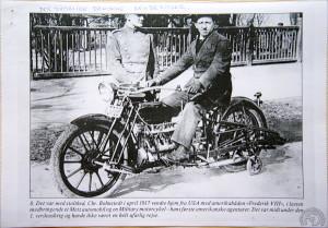La Sinclair Militaire que vous voyez restaurée sur les autres photos a été importée spécialement en Suède en avril 1917 par Chr. Bohnstedt.