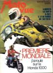 Une semaine plus tard Moto Revue abandonne sa couv rouge et réplique: «J'ai roulé avec la 1000 Honda»