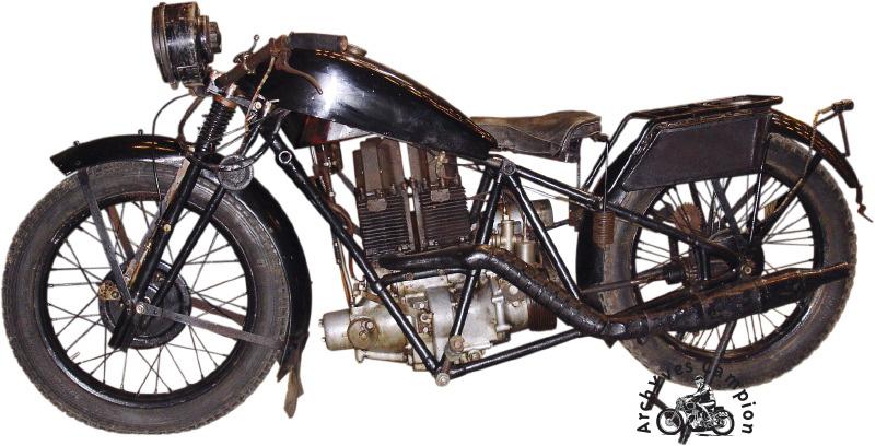 Moto Laguesse détourée
