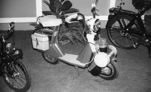 Le Micron ici présenté au salon de Milan en 1967 n'avait aucune chance face à tous les minis italiens