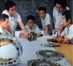 Séance photo pour le catalogue Suzuki : Il ne reste plus qu'à remonter les pièces !