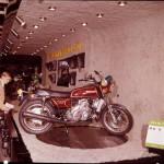 La Suzuki rotative RX-5 de pré-production au salon de Tokyo en 1973.