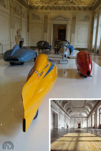 Concept-car à Compiègne : le design rencontre l'histoire