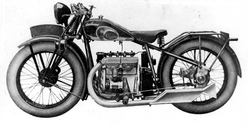 Motobécane 500 B5 catalogue salon de Paris 1929