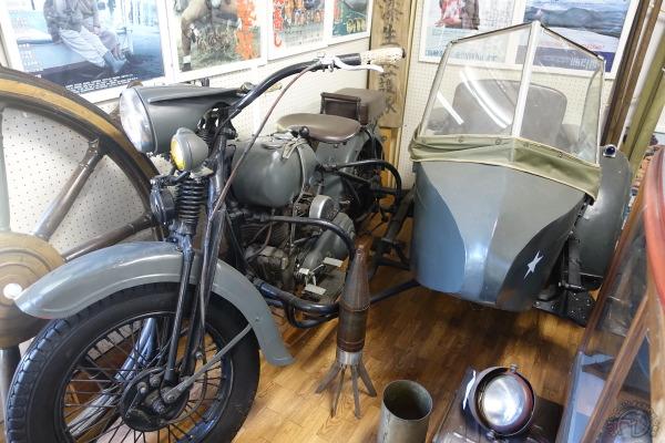 Rikuo 1200 side-car à roue tractée 1937