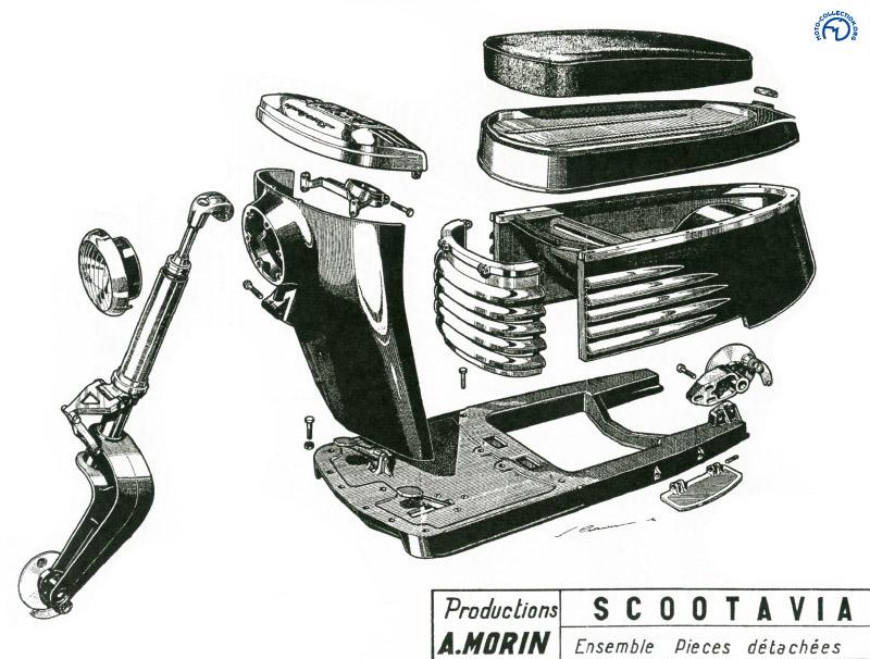 Le reste de la carrosserie est en Alpax et le nez en tôle d'acier.