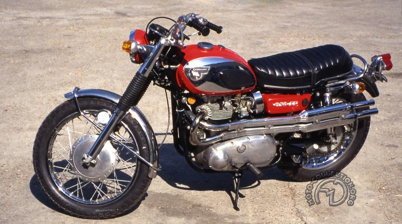 Kawasaki 650 TT  scrambler