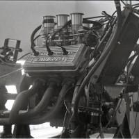 Plus de 140ch à 11000tr/min et un équilibrage parfait, le V6 avait un extraordinaire potentiel et aurait mérité une plus longue carrière.