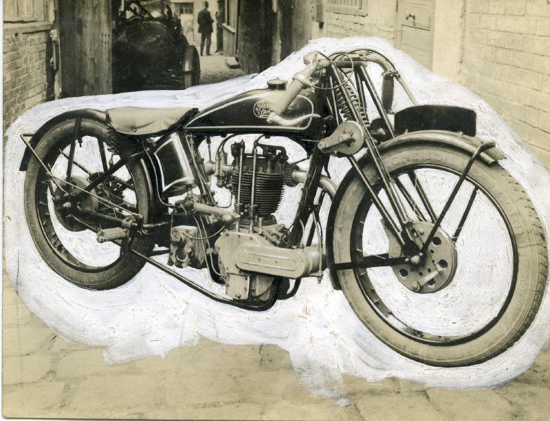 Norton 500 TT18 Spéciale Garreau 1931