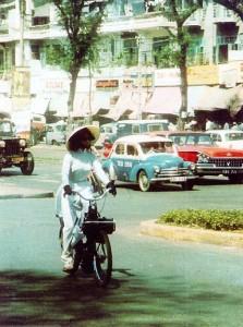 À Saïgon dans les années 50.
