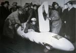Ce cigare de record de 1956 animé par un 50 cm3 NSU à compresseur Wankel atteignit 196 km/h.
