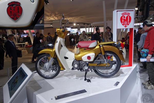 Super Cub C110, version spéciale 60e anniversaire, un futur collector.