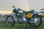 La Lito de Fabrice Bazire, organisateur des motocross à l'ancienne à Beauval-en-Caux et ami de longue date de Sten Lundin.
