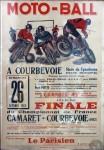 L'affiche pour la finale du Championnat de France en 1952 donne une belle idée de l'intensité de ce sport.