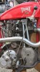 La rare Terrot 250 quatre temps culbutée spécialement conçue pour le motoball en 1934.
