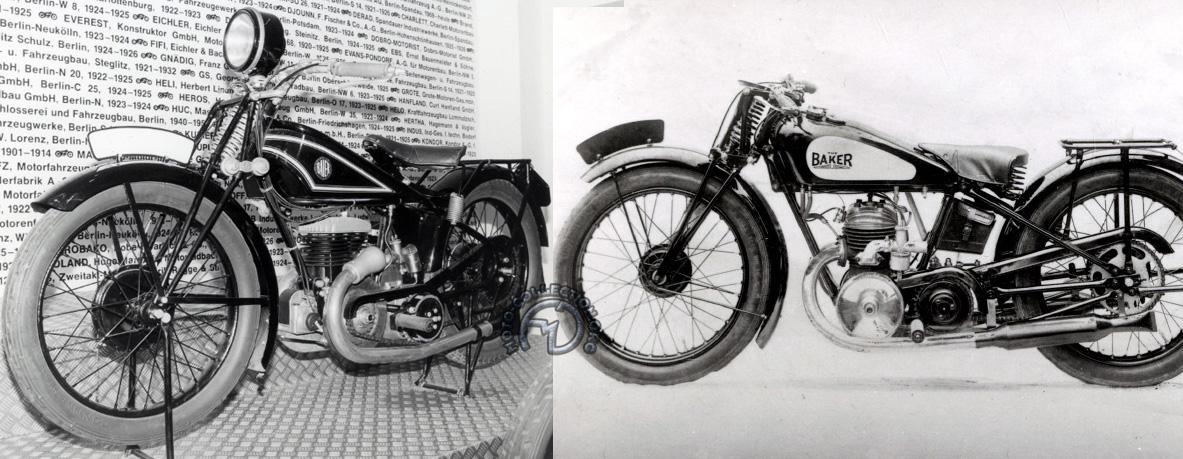 Baier 500 de 1928 - Bakker 250 mod58 de 1929