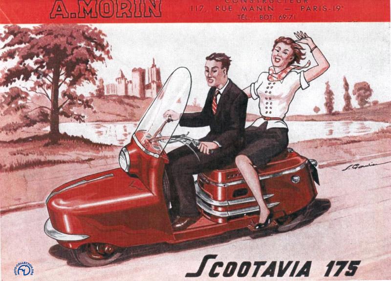 Ultime publicité pour le Scootavia série 3