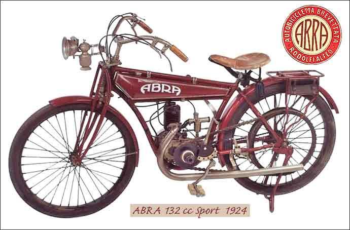 Abra sport à moteur Della Ferrera