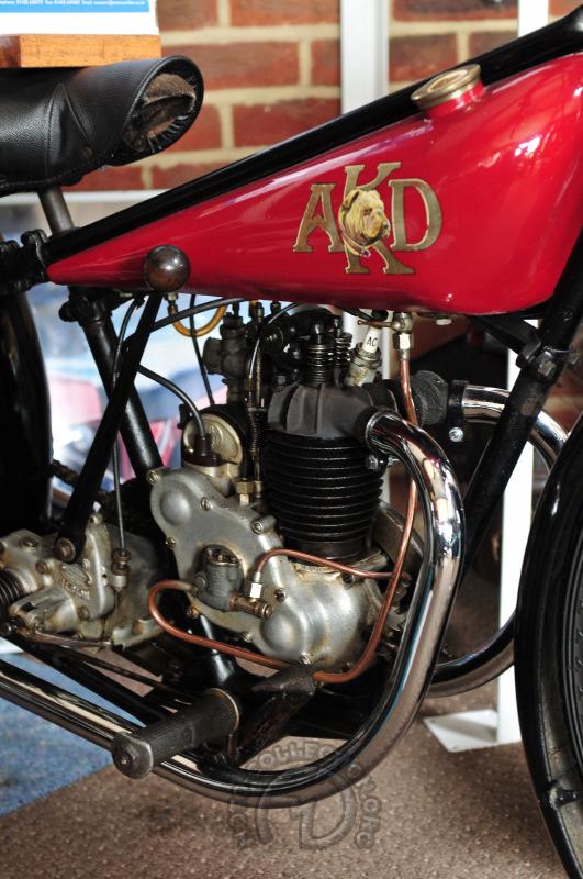 le 175 AKD britannique (photo FMD – Musée Sammy Miller)
