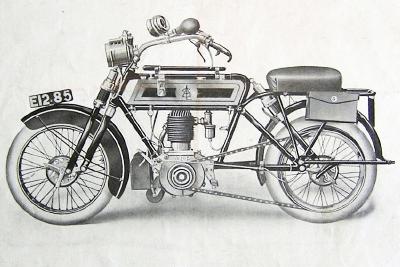 Collection Moto  «Riding on Air» en ASL 1909 !
