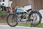 """Cette version course de 1921 baptisée """"Rennwolf"""" (Loup de course) a un double échappement et une culasse en bronze, mais pas de frein avant!"""