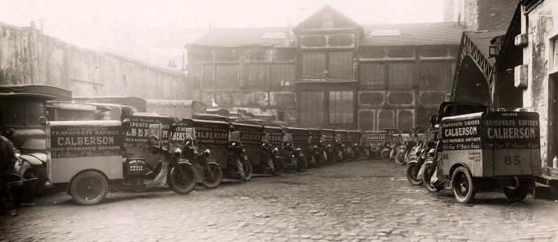 Les tricar Austral de la société Calberson en 1932