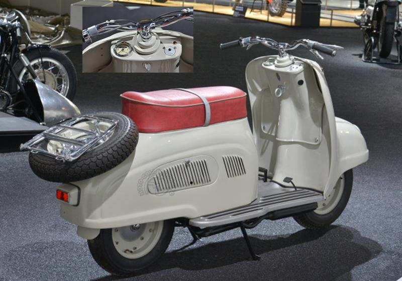 Le BMW 200 R10 1955  (musée BMW)