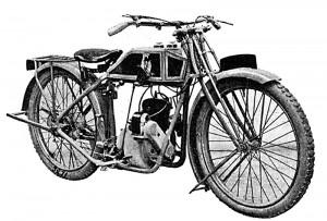 Beatty & Claxton 350 cm3 deux temps 1923.