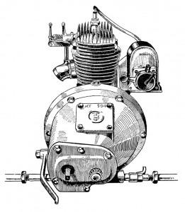Beatty & Claxton 300 cm3 deux temps de 1923