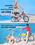 Benelli 50 Sport et Minibike env. 1970