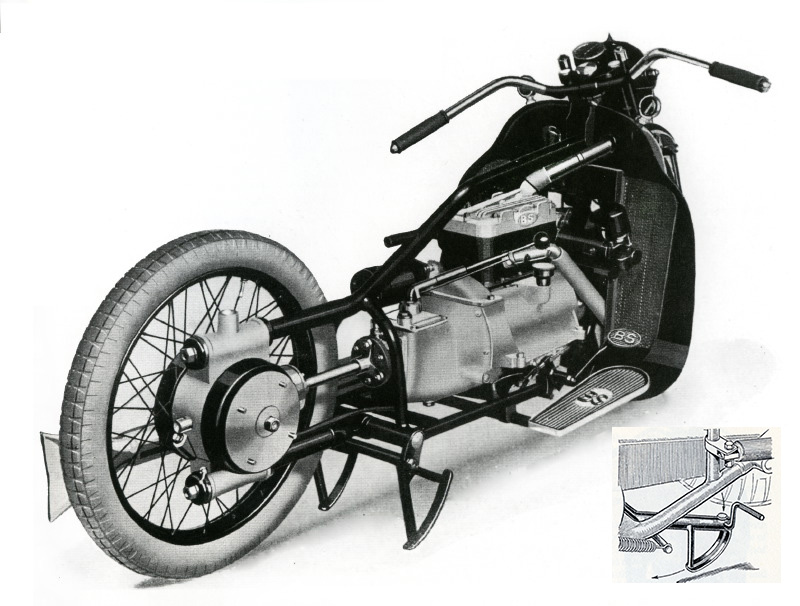 Brough Superior 800 Austin 1932-28