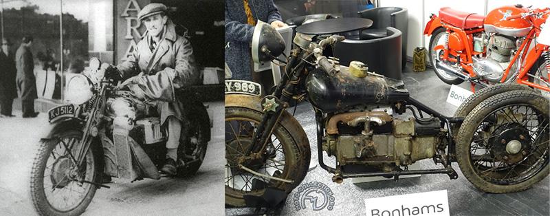 Brough Superior 800 Austin 1932-33