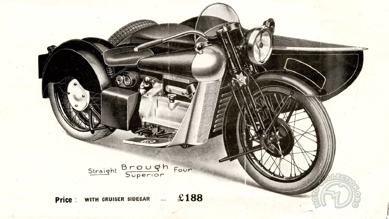 Brough Superior 800 Austin 1932-34